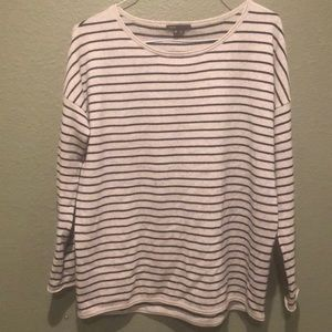 Vince Striped Cashmere Wool blend sweater size M